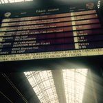Only eastbound trains from #Keleti in #budapest. Reports that refugees who boarded train 4 Austria sent to camp http://t.co/4sQKrJdJgg