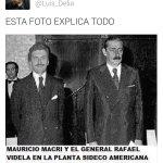 PAPELON DE @luis_Delia: subió foto trucada de @mauriciomacri con Videla. La original es Videla-Martínez de Hoz http://t.co/0jgBFaiqWc