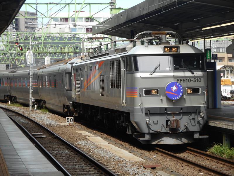 史上まれに見る大遅延だった本日のカシオペア。仙台にて。 http://t.co/6MFzSK7iii