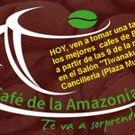 Degustación de los mejores #cafe bolivianos en la Cancilleria de #Bolivia, plaza Murillo (La Paz-Bolivia). http://t.co/T6pjOiGZcF