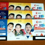 Penukaran tiket konser CJR mulai H-1 Jam 10.00 atau pada hari H mulai jam 08.00 di Apita Hotel. http://t.co/ZjMYtdH61A
