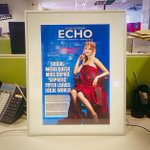 My colleagues are the best. @3cmq you are such a babe! My very own @glosecho front page :) http://t.co/40Y9y6r7eV