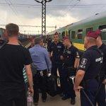 RT jamesmatesitv: International media being shepherded away from the train. Whatever happens next, Hungarians don… http://t.co/vdk7gOKsJN