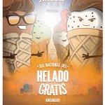 Para cuando imitan los de Posadas? Una cadena de helados en Paraguay regalará sus productos http://t.co/XBw7L6Q6Gu http://t.co/h2jpsHGr78