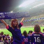 埼スタへ日本代表戦の観戦に行ってきましたー!!!日本は3-0でカンボジアに勝利しましたよ\(^o^)/ 後半の吉田選手と香川選手のゴールはめっちゃ近くで観れたので大興奮でしたっ!武藤選手のゴールも見たかったなぁ! #daihyo http://t.co/N6tdSRP2Xo