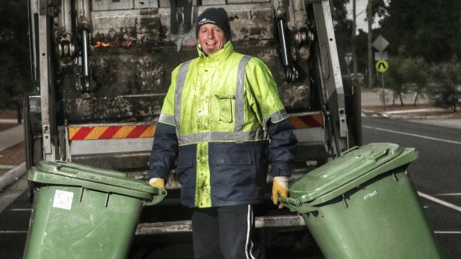Ex-afl champ john barnes turns garbage man, loves it ...