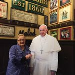 If the Pope visits @McGillins during @WMF2015, well pick up his tab. #FreebeerforPope #openinphl http://t.co/2zesOypZy3