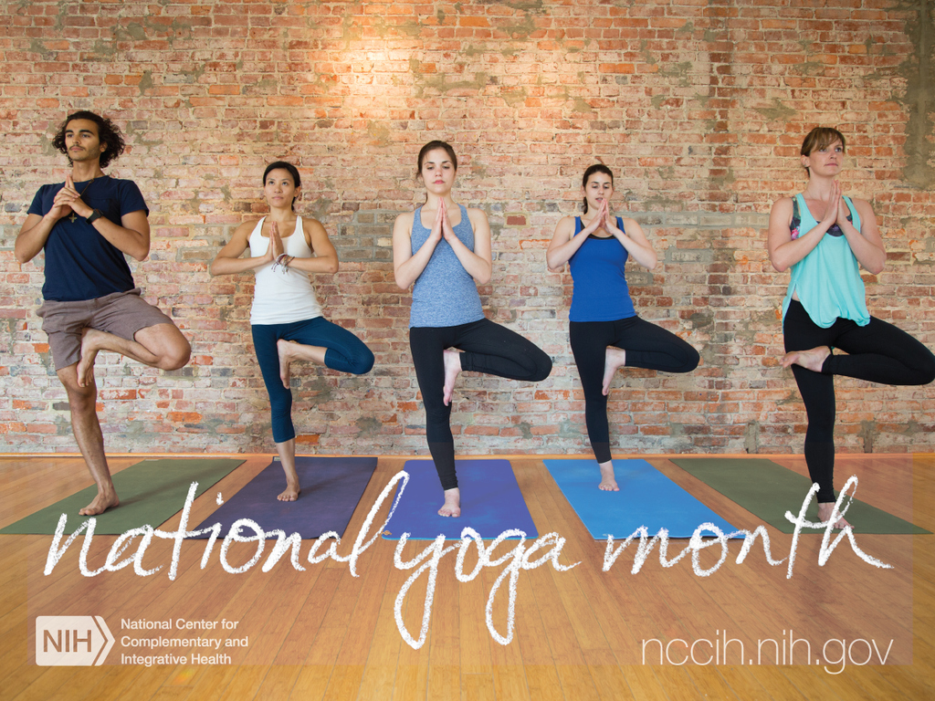 National #Yoga Month starts today! Research shows yoga may be beneficial for physical #fitness, #pain, & #stress http://t.co/gwALSbs4Eh