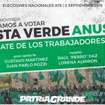 #EleccionesATE En #Rosario y toda la provincia votamos la #ListaVerdeAnusate! +info http://t.co/tgj8p6EZTu http://t.co/JUY5PBGRjX