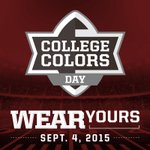 Round up your maroon. This Friday is #TAMU College Colors Day! http://t.co/ooCWDFfYZj