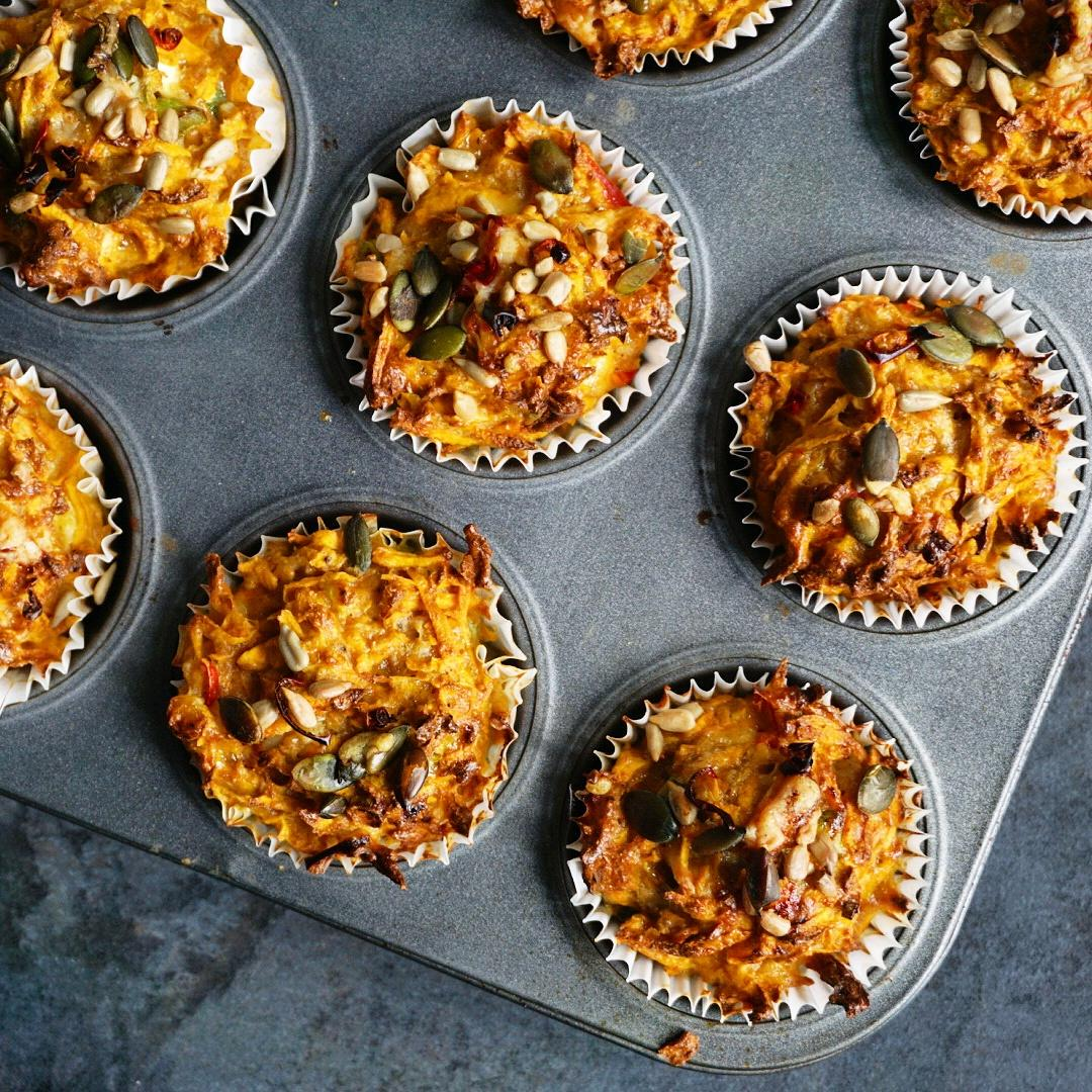 RT @LeyLaLaa: First thing I've eaten today, @jamieoliver's sweet potato & chilli muffins with cheese & seeds ???????????? #EverydaySuperFood http://…