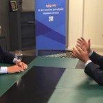 Pleasure to meet you Pres @JosephDaul. Cooperation on #Cyprus, #immigration, #Energy, #security. @DISY @EPP @EPPGroup http://t.co/YhZv79qzaJ