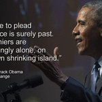 President Obama condemned climate change deniers during a conference in Anchorage, Alaska: http://t.co/Sv26JO2m6q http://t.co/42xMc9m0DE