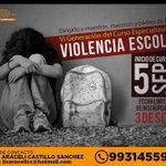 """Inscripciones abiertas al VI Curso """"Especializado en violencia escolar"""". @setabasco @Xeva_Noticias #Tabasco http://t.co/afl9zPiaug"""