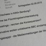 Frisch im Maileingang: die Themen von ZAPP. Im Fokus: Der KiKA, #Flüchtlinge, #Hatespeech, #BBC - Mi, 23.20 Uhr. http://t.co/cb4qrB1a3o