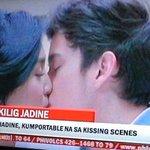 JaDine,Kumportable na sa kissing scenes. Kaya pala nakakailang takes eh! #OTWOLFairyTale http://t.co/0ayTWYwCp8