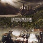 Primeiro de setembro. Está na hora de voltar pra casa. #BackToHogwarts http://t.co/6mYgPBM3gX