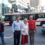 Fantastic-where r Ridings meet! Yonge & Eglinton w my fab border colleagues @marcomendicino & @Rob_Oliphant #elxn42 http://t.co/F8ycHoEKeL