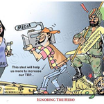 Hero Vs Vamp... Thats the Real Indian Media! #ParivartanRally #Presstitutes by @dreamthatworks http://t.co/Jen4pOtAqj