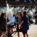 messe le docce per turisti ad #Auschwitz, a sto punto pure dei forni a legna per fare il pane no? #imbarazzo http://t.co/m6d7co4TK6