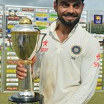 Theres plenty of reasons for @imVkohli to smile after the 3rd #SLvInd Test... READ here: http://t.co/ueyC7lDKNG http://t.co/rvJLOdCr9a