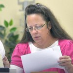 Kentucky clerk: Office is denying marriage licenses to gay couples under Gods authority http://t.co/jsziFun7wH http://t.co/fGtL3ezkLU