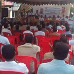 At Ernnakulam in Kerala now, addressing a public meeting in constituency of Congress MP & Ex Minister Sri KV Thomas. http://t.co/ibB5IqhSbE