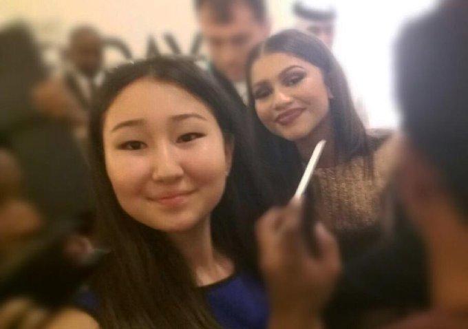 My lovely Zendaya  Happy Birthday,I love you  Thank you for your mood and for what you have