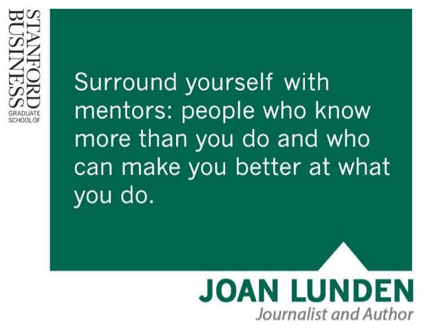 7 reasons why a mentor is critical to your success, via @stanfordbiz: http://t.co/1rQd9qDGib http://t.co/LCbdKFDF15