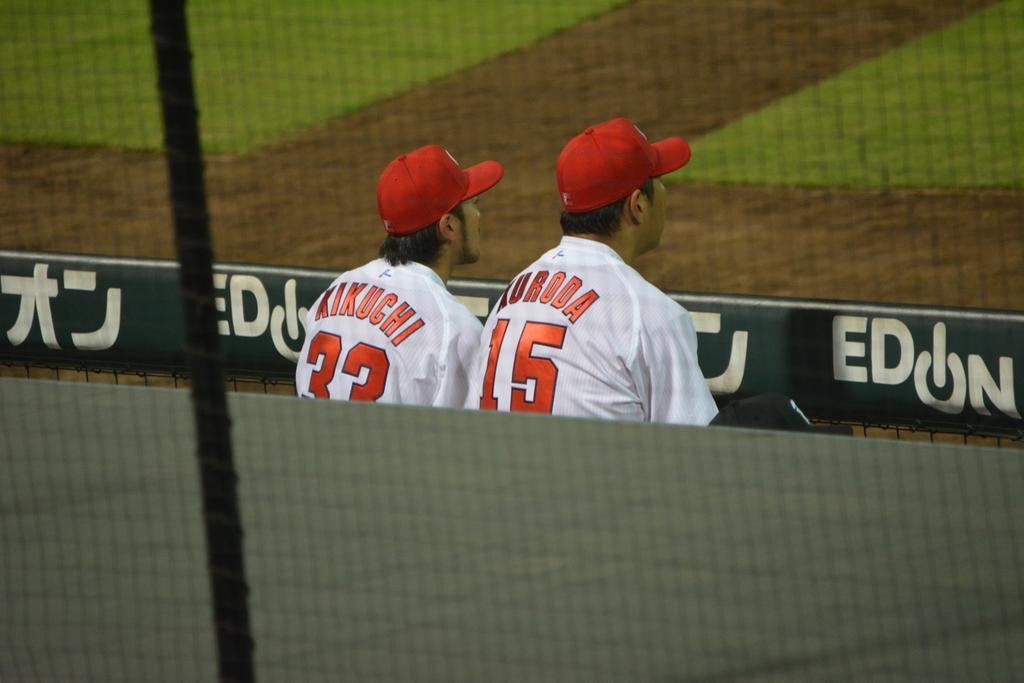 お菊と黒田。 http://t.co/h92O7SKlTN