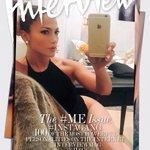 September issue of @InterviewMag ???????????? #InterviewGang #SelfieGameStrong #BronxBarbie http://t.co/2JeRTja470