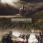#PotterheadsAreGoingHome Back to Hogwarts on the Hogwarts Express where we all belong. #BackToHogwarts http://t.co/ToJN64dFq3