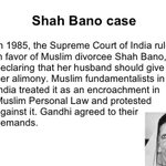 Affirmative action shud start with Uniform Civil Code & EQUAL rights 4 Muslims women. #ShahbanoCase VP Hamid Ansari http://t.co/BgPYU3qceN