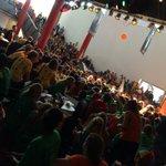 Met +/- 1500 nieuwe studenten @NHTV in @ChasseTheater @breda, nu al een feest!! #breda #studentenstad http://t.co/kPE9jzu4NO