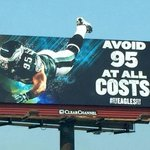 This Eagles Billboard on 95 South Is AbsolutelyOutstanding http://t.co/0lITmP90XH http://t.co/Rgb0t1EP4W