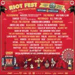 RT for your chance to win our last a pair of tickets to Alexisonfire/Weezer/TheProdigy/AllTimeLow @RiotFest - Paul http://t.co/lstzpgDAjD