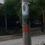 El candidato #Sierra del @alianza_verdeco no parece seguir la línea verde de su partido #PosteSinPapel ???????? http://t.co/eCuZq4pxoE