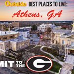 Athens, GA was recently ranked the 6th best place to live in America by @outsidemagazine.  #my_athens #CommitToTheG http://t.co/jpiCN8lh05