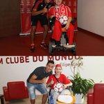 Recentemente a Fundação Benfica ajudou a realizar o sonho do Bruno e do Leandro. A alegria foi nossa! #IstoÉoBenfica http://t.co/bPuXxvT8Qm