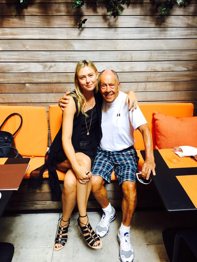 Spent the morning with this incredible person @NickBollettieri #Memories #HallOfFame http://t.co/leEhuzzQq3