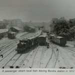 Wow! Bandra station on what is @WesternRly today #Mumbai #railway @mumbaiheritage http://t.co/K3Gtg0Dhc2
