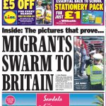 There follow some RTs for any Brits who think this sort of response to the migrant crisis is normal: http://t.co/V65MRaNYhg