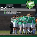 Dames voetbal is superhot, zoek jij nog een team in de regio Breda? Zie oa deze flyer of andere teams op de site! http://t.co/nbFoaZJayc