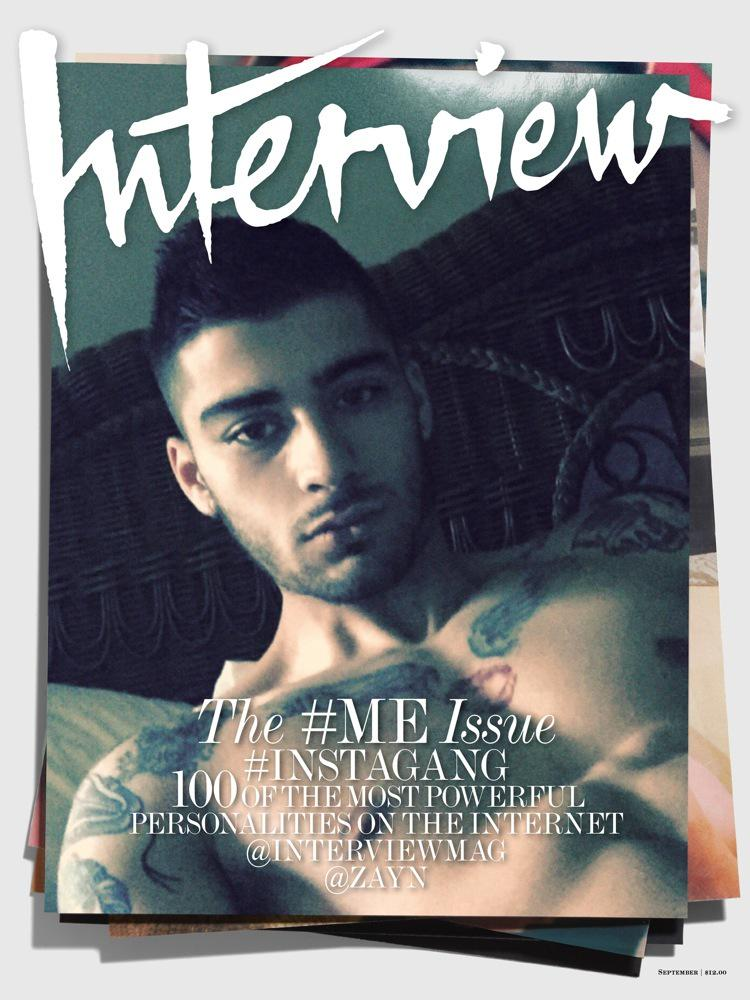 The wait is over... @zaynmalik #InterviewGang http://t.co/KOyQGDiuAh http://t.co/ZfKyohjIId
