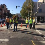 Sprague will likely be closed from Lincoln->Maddison as @AvistaUtilities crews fill the gas leak hole at Monroe #kxly http://t.co/Qx6G5Sw8kd