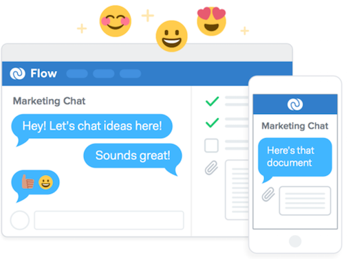 We're very proud to introduce Chat, a whole new way to chat with your team, right in Flow: http://t.co/rKUDQJKKFj http://t.co/etnaezSSHU