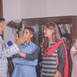 @ImranKhanPTI meets Shah Faisal (Top Student from Malakand) @RehamKhan1 will be supporting Higher Edu of Faisal http://t.co/kMUPXEA1sy #PTI