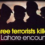 Three terrorists killed in #Lahore encounter Read more: http://t.co/uiIIta7QfN http://t.co/XO4PRVmCr0