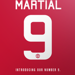 Anthony Martial will wear the number 9 shirt at Manchester United. (Source: @ManUtd) http://t.co/MIwDH2AOEr
