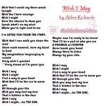 Sa mga naghahanap ng Lyrics ng Wish I Maine!Este Wish I May ni bae @aldenrichards02 Eto po! © #ALDUBJourneyToForever http://t.co/B0pwImcZcW